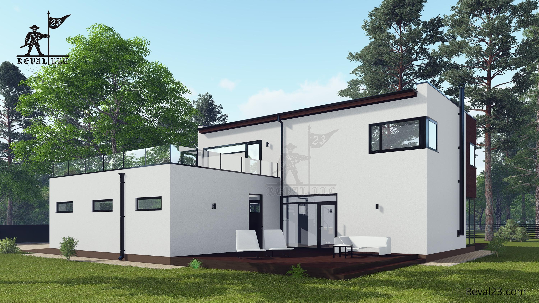 Строительство дома - проект АНСАГЕР
